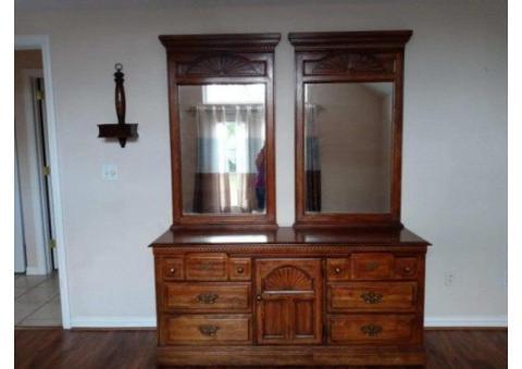 Bedroom Triple Dresser